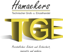 Logo TGE Hamaekers Technischer Groß- und Einzelhandel